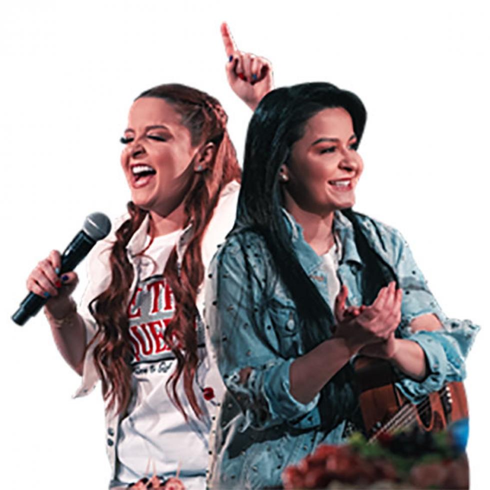 MAIARA E MARAISA show em 11 de abril