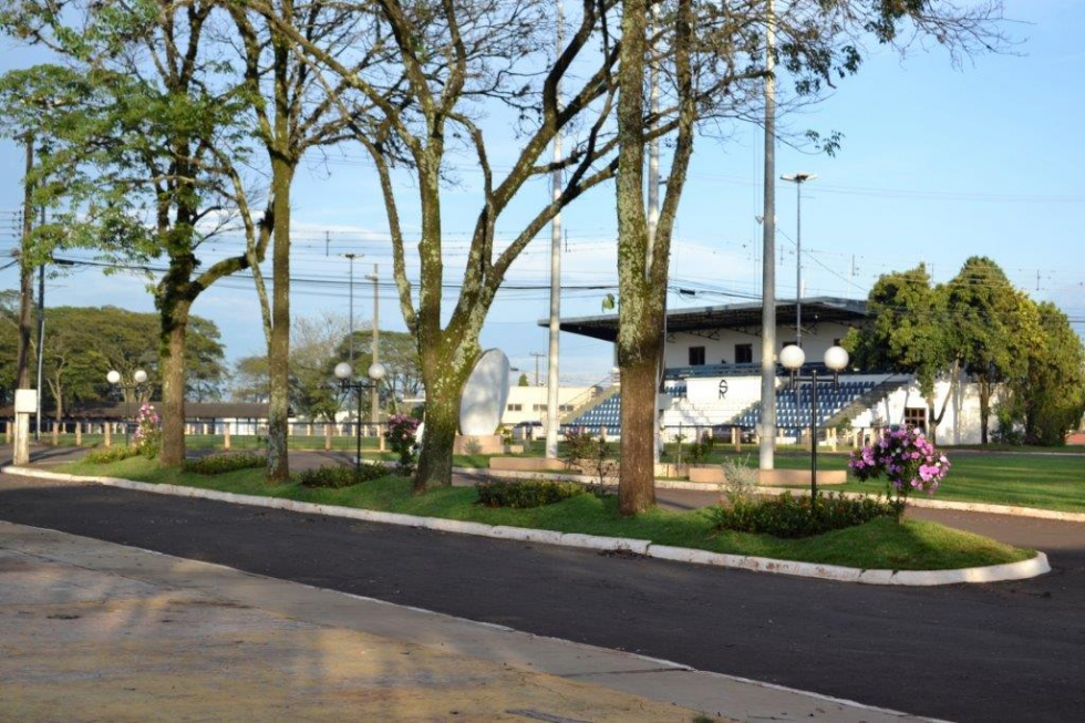 Vista do Parque Ney Braga