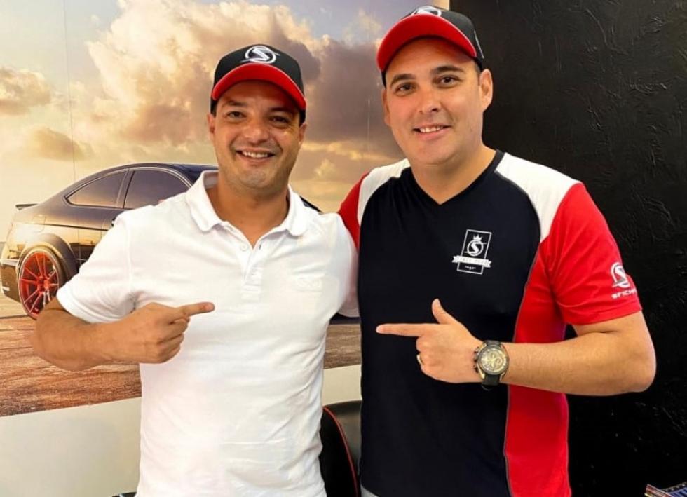 Paulo Salustiano e Marcio Medina (diretor da SFI CHIPS) - Foto: Divulgação