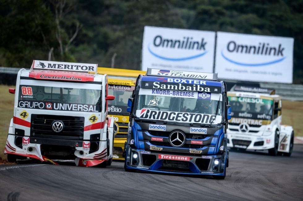 Disputa pela liderança - Foto: Duda Bairros/Copa Truck
