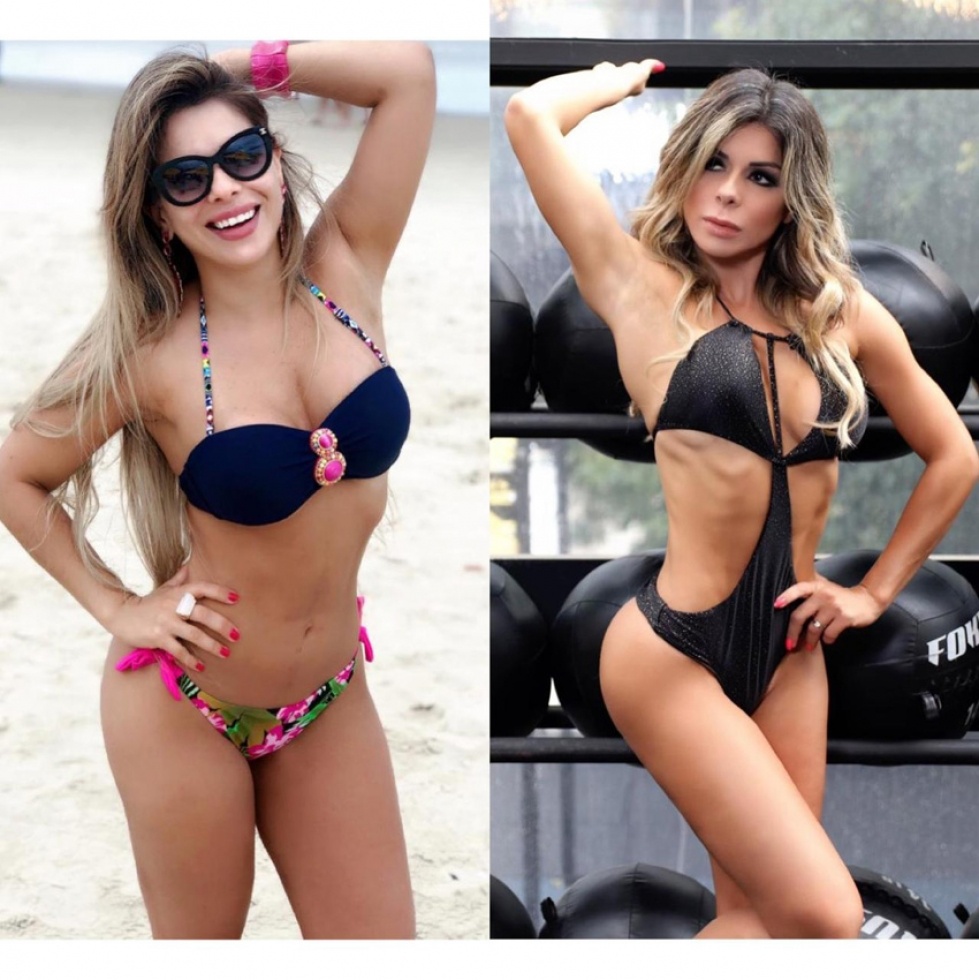 Vanessa Perez (Antes e Depois )