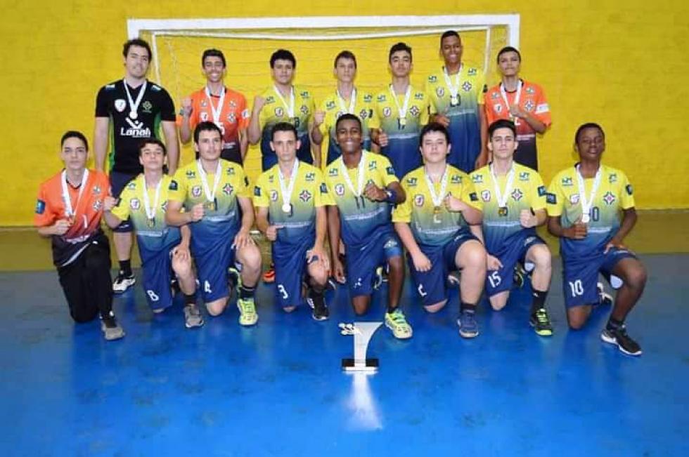 Sete jogadores de Cambé receberão pela primeira vez a bolsa-auxílio do Programa Geração Olímpica 2020  – Foto: Divulgação