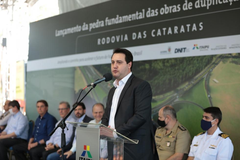 Tudo isso graças à gestão da Itaipu, que está fazendo um trabalho sério, trazendo economia para o Brasil e para o estado - Foto: Kiko Sierich/Divulgação