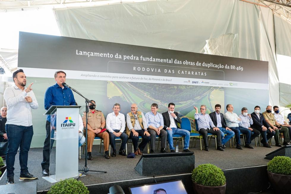 """""""Itaipu é um orgulho para todos nós..."""" - Presidente Jair Bolsonaro"""