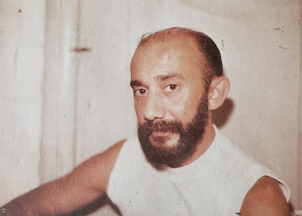 Oswaldo Diniz em 1982, já com 42 anos.
