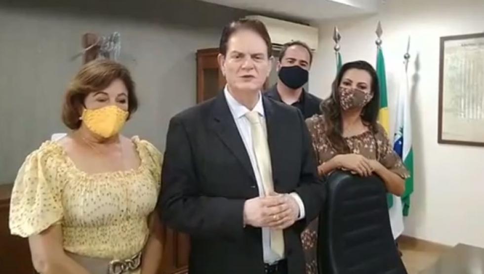 Posse do prefeito José Maria Ferreira 01/01/2021 - Foto: Face/divulgação