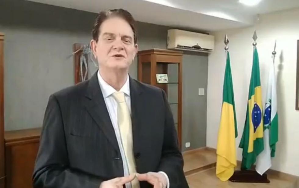 Posse do prefeito José Maria Ferreira, ontem 01/01/2021 - Foto: Face/divulgação
