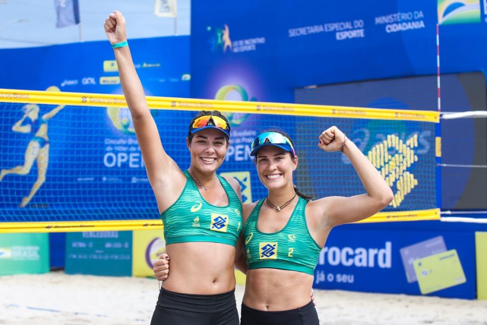 Ana Luiza e Tory - Foto: Wander Roberto/Inovafoto/CBV