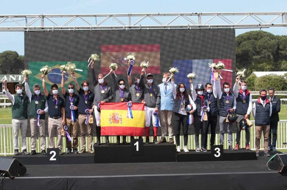 Espanha, ouro, Brasil, prata e França, bronze – Foto: Endurance Lifestyle