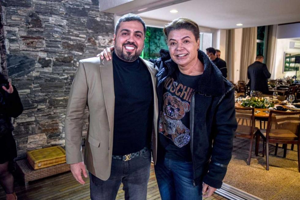 Empresário Diego Hidalgo e David Brazil - Foto Lucas Nino - Divulgação