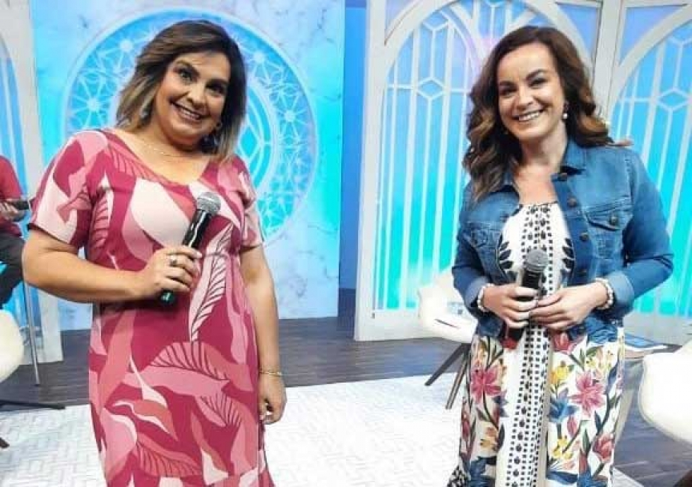 Bete Ribeiro e Daniela Espíndola – Foto: Acervo Pessoal Daniela Espíndola