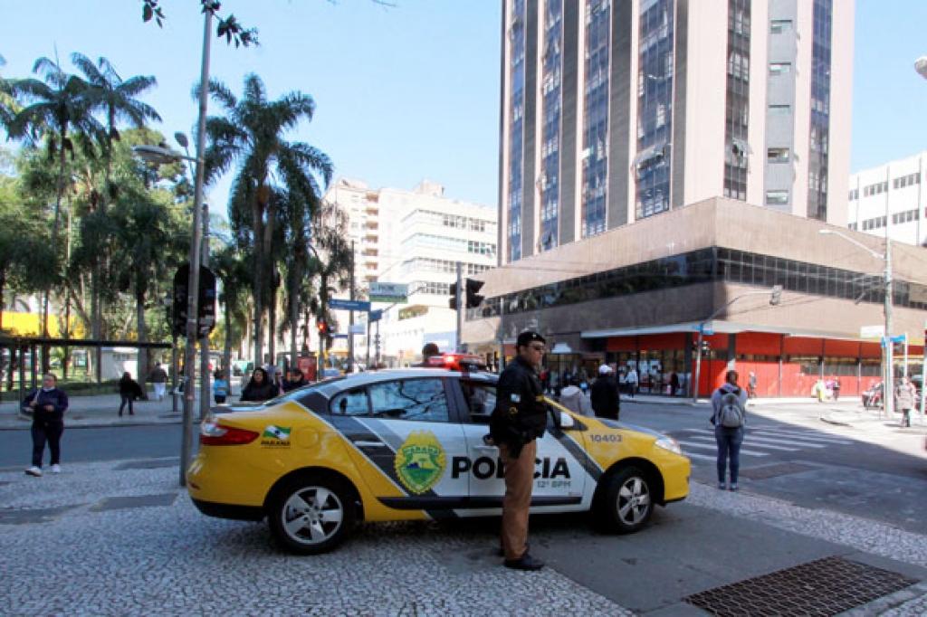 Polícia Militar do Paraná. Foto: José Gomercindo/ANPr