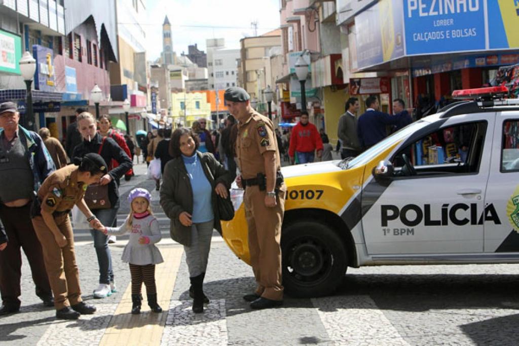 Polícia Militar do Paraná em Ponta Grossa. Foto: ANPr