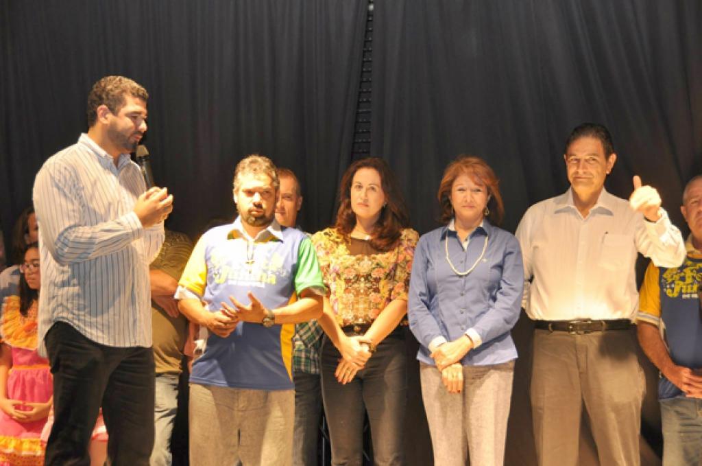 Abertura da Festa Junina de 2014 - Divulgação/PMI