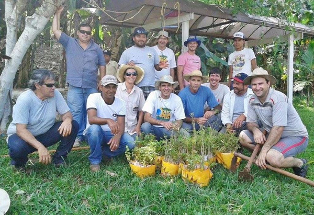 Em Apucarana, o Córrego Jacucaca recebeu a ação e já é foco de monitoramento há três anos - Divulgação