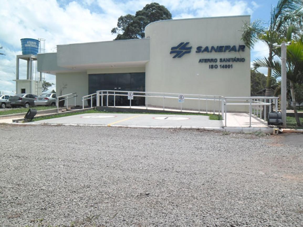 O Aterro de Cianorte é o primeiro aterro brasileiro, sob a gestão de uma estatal de saneamento, a obter a certificação ISO 14.001 -  Foto: Divulgação