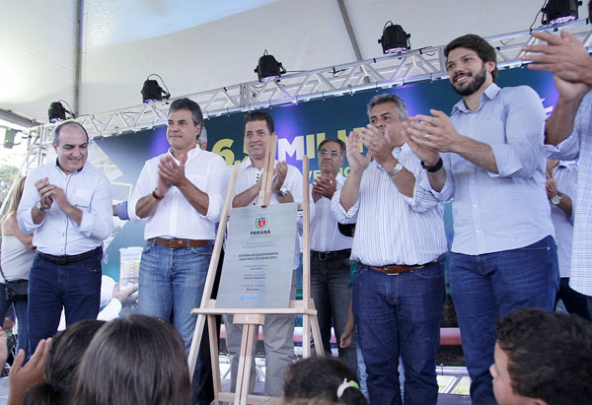 Inauguração em Tamarana