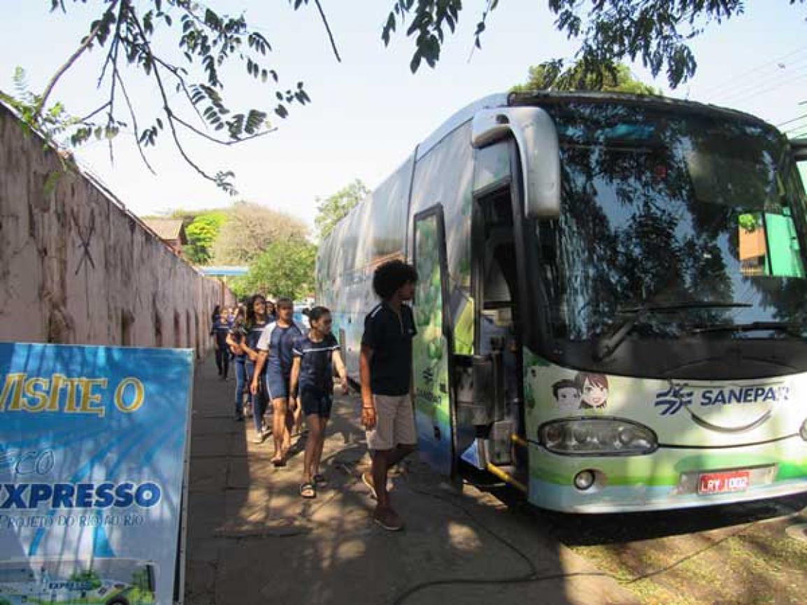 Até sexta-feira, alunos conhecem projeto Do Rio ao Rio - Foto: Divulgação