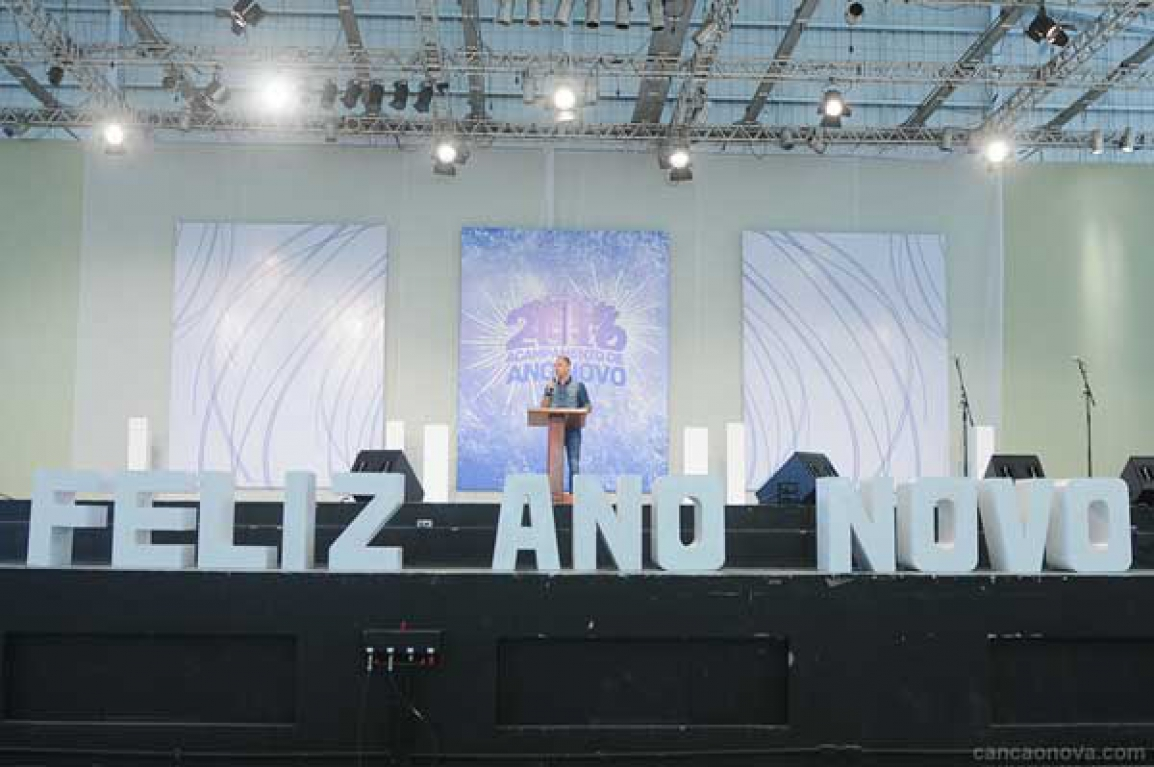 Palestra com o Dunga no domingo (30-12) às 9h30 no Acamp de Ano Novo - Crédito Canção Nova