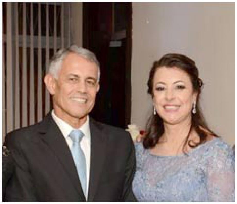 Casal diretor-geral da Convenção, CCLL Juarez e Soluete Moreira - Foto: Divulgação