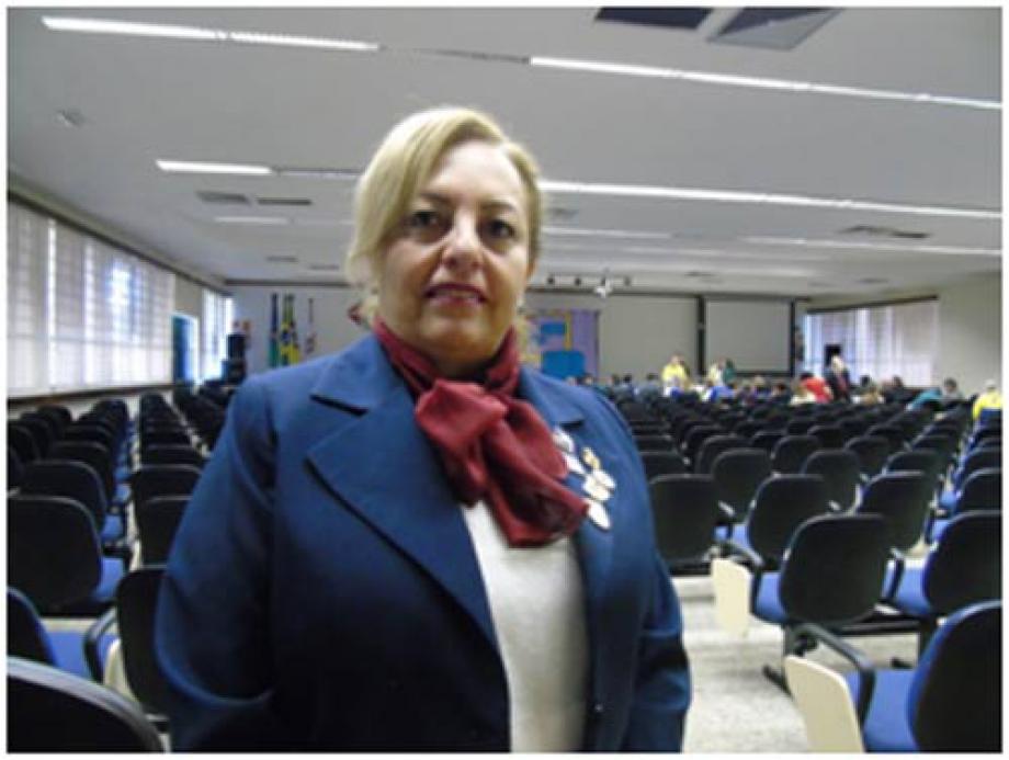 Nova presidente do Conselho de Governadores do Distrito Múltiplo LD, Liza Cristina Ganem Novaes  - Foto: Divulgação Lions