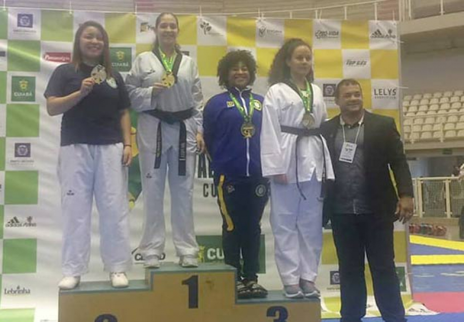 Ana Paula Alves Morais - campeã brasileira