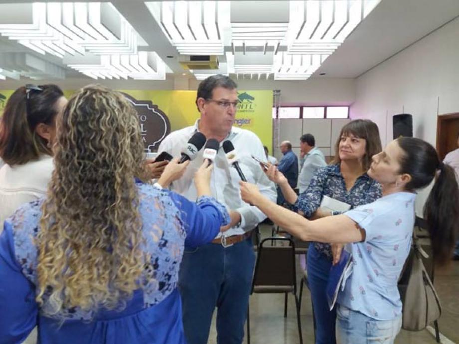 Ilson Romanelli conselheiro da Sociedade Rural do Paraná e um dos organizadores -  Foto: Divulgação