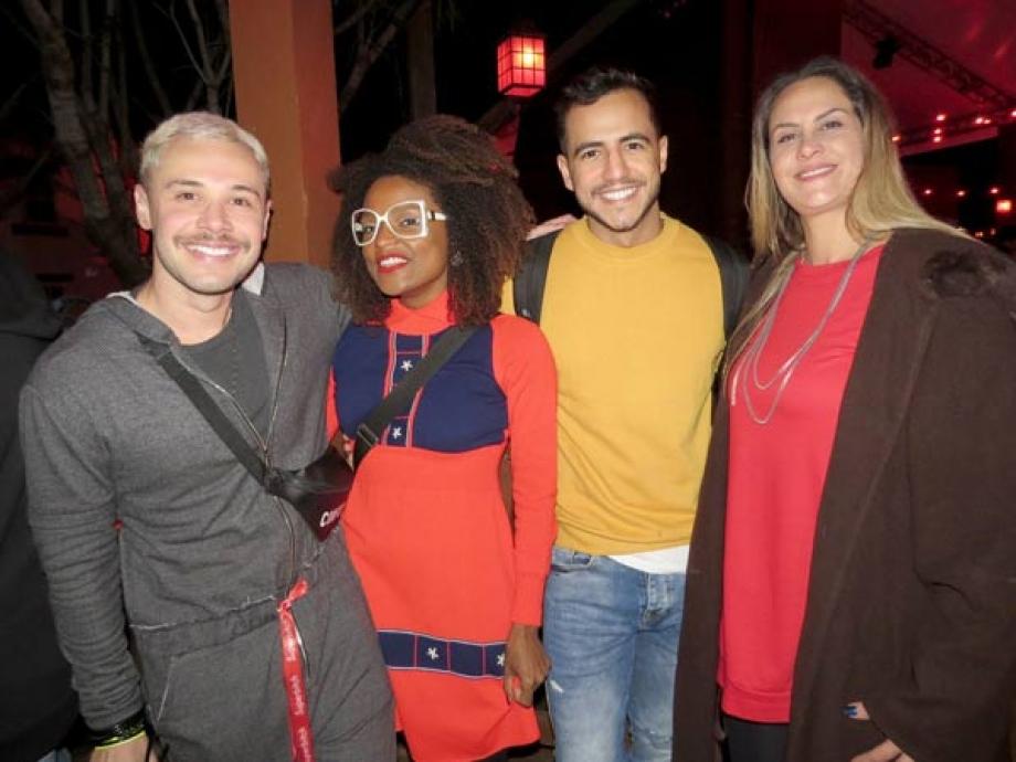 Alex Gallete, Ex BBB Nayara de Deus, Matheus Lisboa e Aritana Maroni