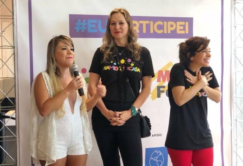 Flavinha Cheirosa e Adriana Colin e atriz Sabrina Petraglia- Fotos: Renato Cipriano / Divulgação