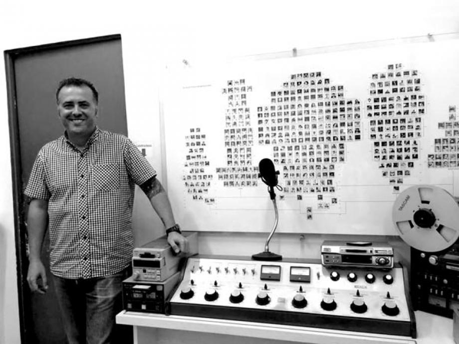 DJ Fernando Feijó - Foto Arquivo Pessoal