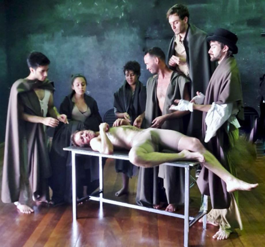 Artes Cenicas UEL - Esquizo frankenstein -o inominável - foto divulgação