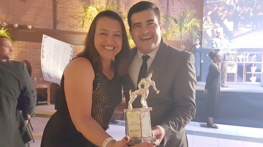 Silvia Beatriz e Fábio de Oliveira