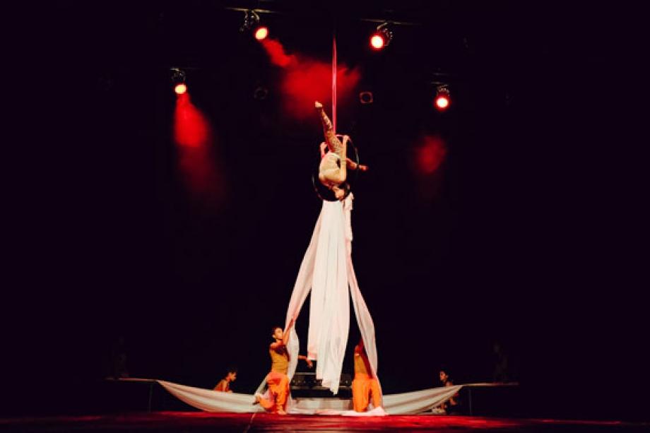 No rolê da capoeira, do Circo da Alegria - Toledo-PR - Foto: Daniel Vendramini/Divulgação