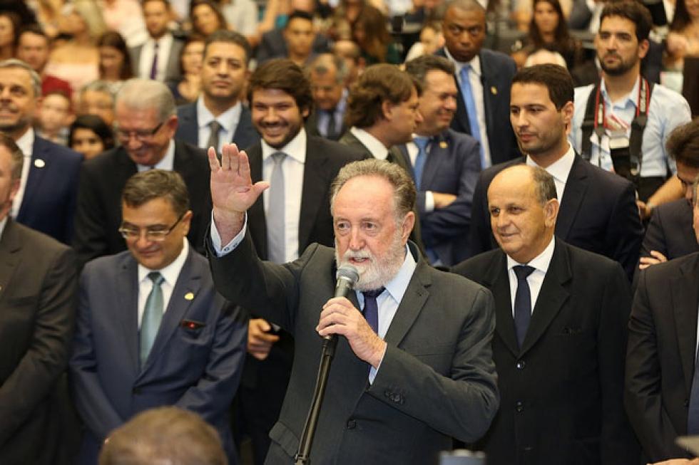 Tercílio Turini (PPS) – nascido em Londrina (PR), em 1º de agosto de 1944, é médico, foi suplente de deputado em 2010, assumindo em 2013; elegeu-se para o 3º mandato com 46.106 votos - Foto: Nani Góis