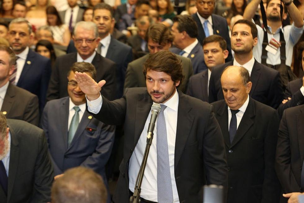 Tiago Amaral (PSB) – nascido em Londrina (PR), em 18 de julho de 1986, é advogado e elegeu-se para o 2º mandato com 79.455 votos - Foto: Nani Góis/Alep