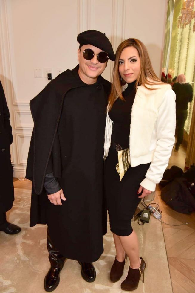 Luciane com Elvis Crespo- Fotos de:  MF Press Global