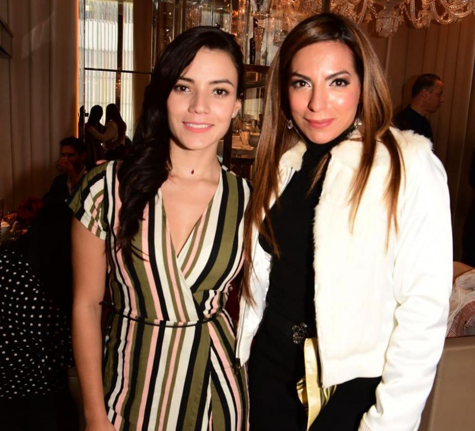 Luciane com Jennifer Arenas- Fotos de:  MF Press Global