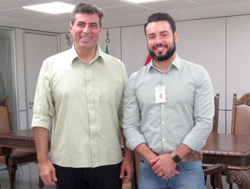 Marcelo Belinati recebeu convite para conhecer obras do novo gerente geral na Região Nordeste , Rafael Malaguido