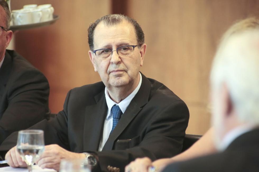 Presidente do G5, Antonio Azevedo, que é também presidente da ABAV-PR - Fotos Ezequiel Prestes