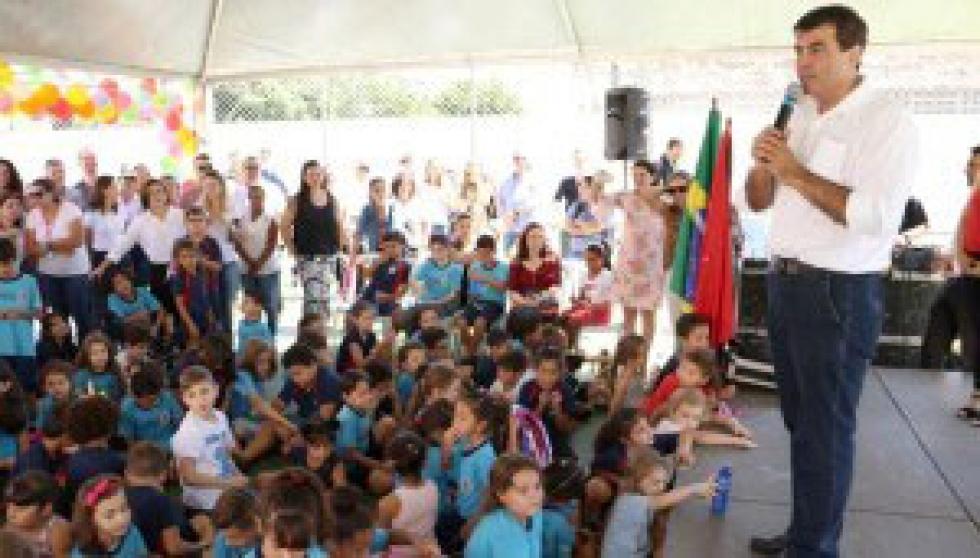 Marcelo Belinati lembrou que está sendo feito um grande trabalho na área da educação em Londrina.