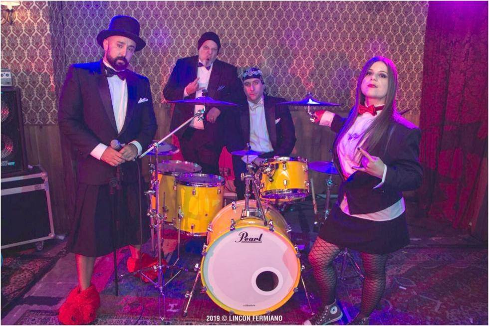Banda Marília Gabriela - Foto: Lincon Fernando