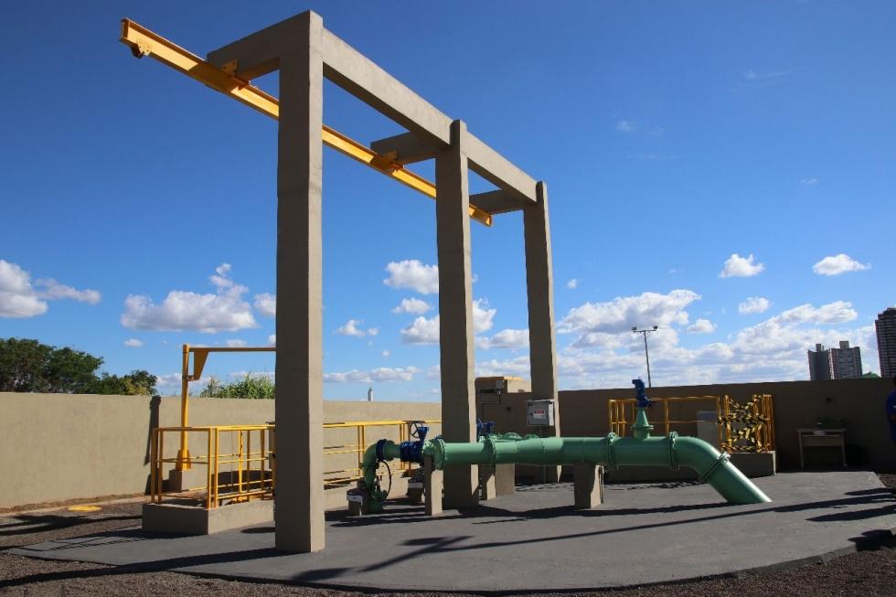 Reservatório Sul com capacidade de 10 milhões de litros