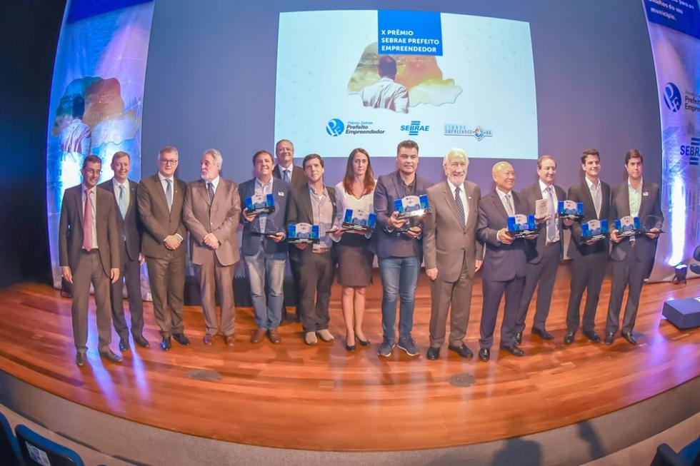 Vencedores do Prêmio Sebrae Prefeito Empreendedor participarão, em julho, da fase nacional.