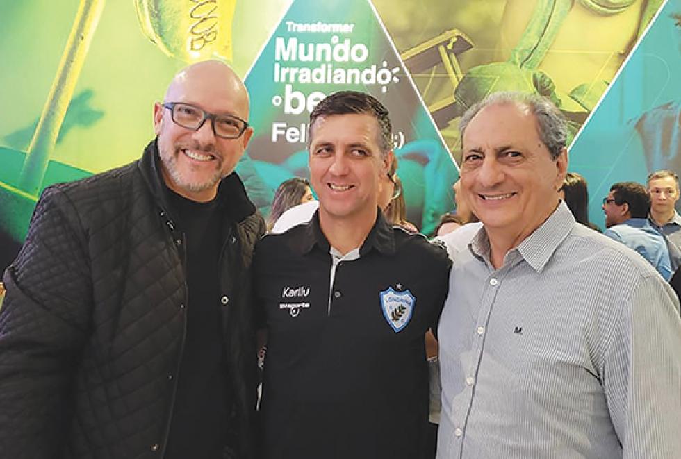 Marcão Kareca, Técnico Alemão e Rafael de Giovani Netto