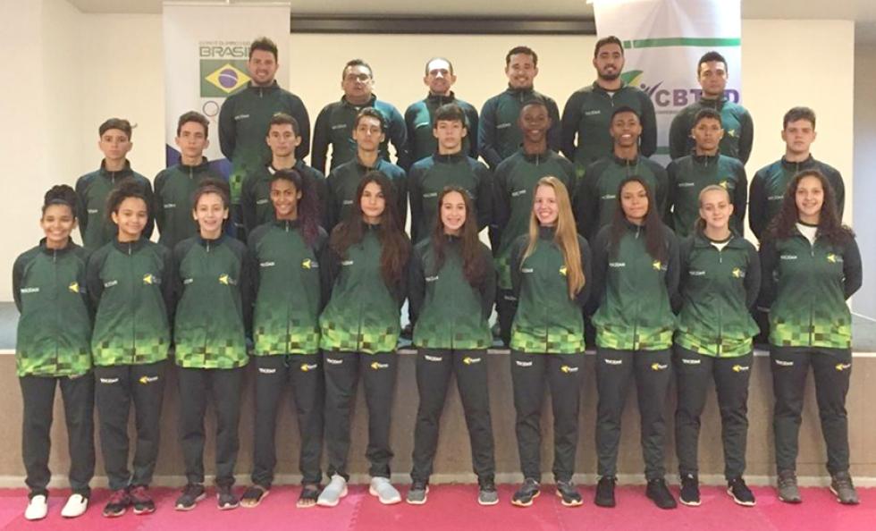 Equipe Brasileira Juvenil- Foto: Divulgação