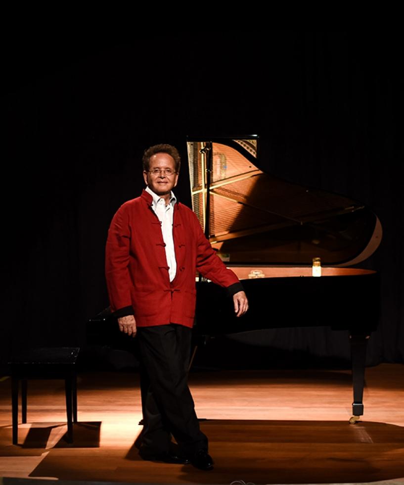 pianista Marco Antonio de Almeida