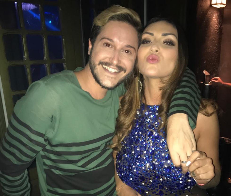 Rômulo Moreira e Keila Amaral