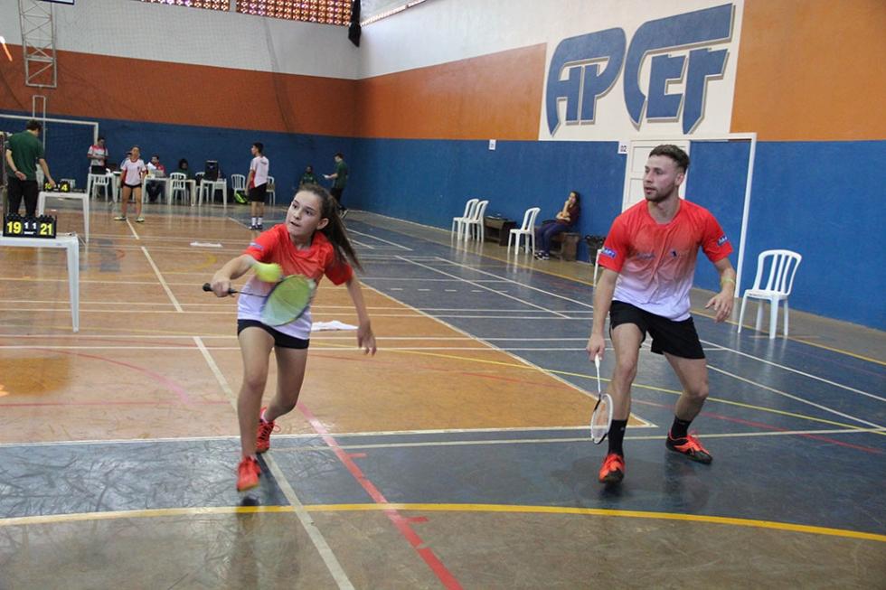 Natasha Cunha conquistou ao lado de Willian Guimarães o primeiro pódio nos JOJUPS com apenas 13 anos – Foto: Jaqueline Galvão/JOJUPS