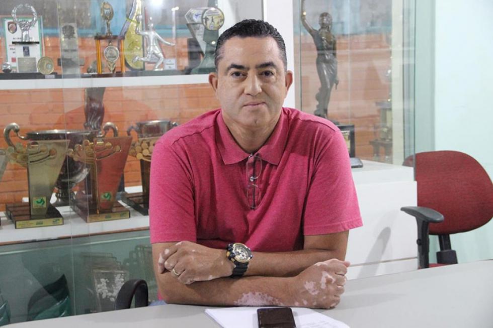 Assessor de Esportes e Eventos da FEL e coordenador municipal dos JOJUPS, Sandro Santos - Foto: Jaqueline Galvão/JOJUPS
