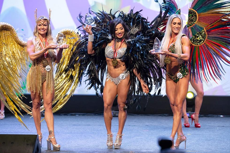 O WBFF é considerada a competição fitness mais glamorosa do mundo